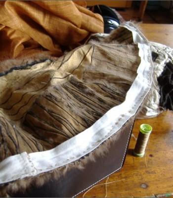 Жилетки из натурального меха шьем сами